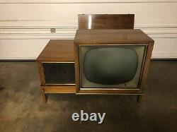 1959 RCA Hideaway Television TV vintage classic mid century modern Tube