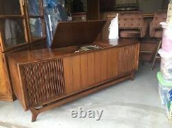 Packard Bell Stereo Console Credenza Vintage Mid Century Modern Rare