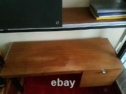Rare Vintage Herman Miller Eames Css Desk Wall Unit 3 Tier Lighted MID Century