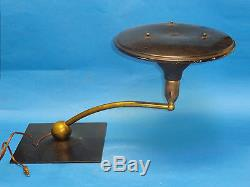 Vintage M. G. Wheeler Sight Light Mid-century Industrial Design Table Lamp Works