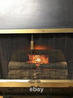 Vintage Mid Century Arvin Electric Fireplace Variable Heat 1500 watts