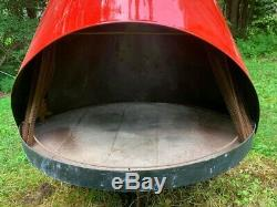 Vintage Mid Century Modern Cone Fireplace PRICE REDUCED FOR QUICK SALE