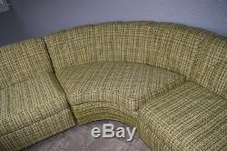 Vintage Mid-Century Modern Sectional Sofa