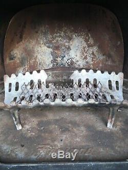 Vintage Mid Century Wood Stove Fireplace Modern Cone Retro Malm Condon Iconic