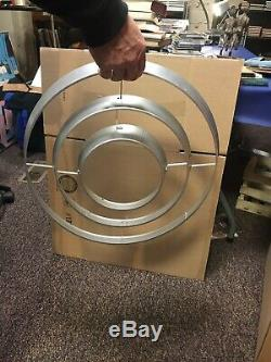 Vtg Atomic Space Age Mid Century Modern Original Hanging Ceiling Light Saturn